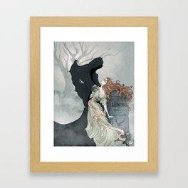 Lenore Framed Art Print