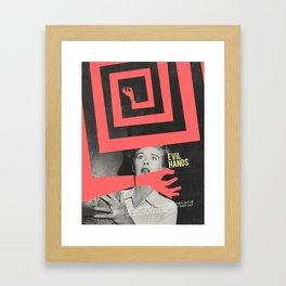 Evil Hands Framed Art Print