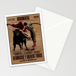 Hermosos y Bravos Toros Stationery Cards