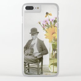 overgrown garden Clear iPhone Case