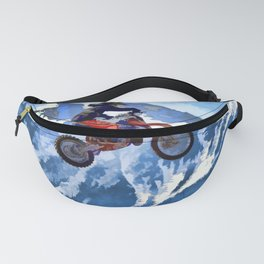 Mountain View-Motocross Rider Fanny Pack
