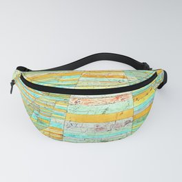 Paul Klee Highways and By Ways Fanny Pack