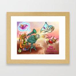 Devils henchmen poster  Framed Art Print
