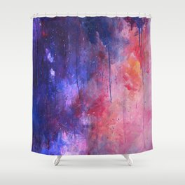 firestorm aria Shower Curtain