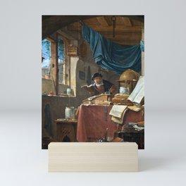 Thomas Wyck A Scholar in his Study Mini Art Print