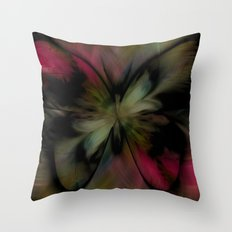 Butterfly Feathers Throw Pillow