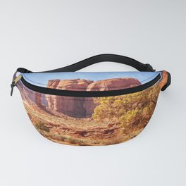 Most Interesting View of Monument Valley Fanny Pack