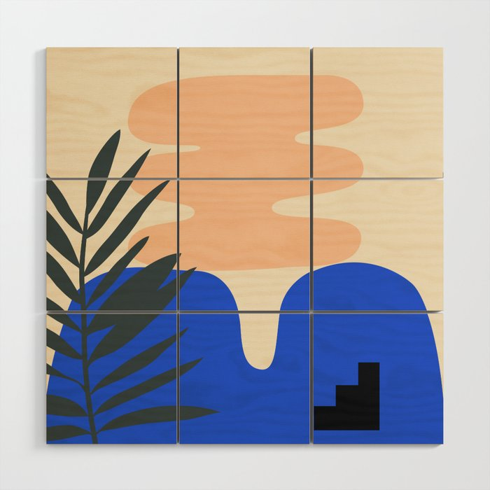 Shape study #14 - Stackable Collection Wood Wall Art