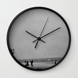 At the beach, Rhode island Wall Clock