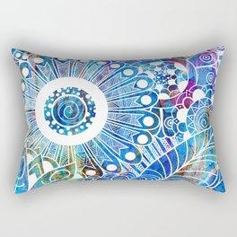 Submerge Doodle Rectangular Pillow