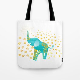 Lucky Elephant – Magic Villa Tote Bag