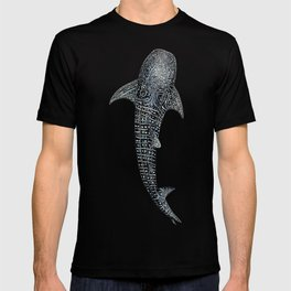 Whale shark for divers, shark lovers and fishermen T-shirt