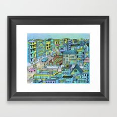 TinaTown Framed Art Print