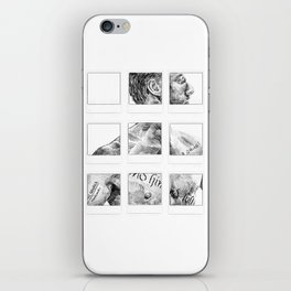 Memento Polaroids - Movie Inspired Art iPhone Skin