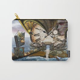 Steampunk Ocean Dragon Library Carry-All Pouch