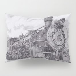 Durango and Silverton Steam Engine Pillow Sham