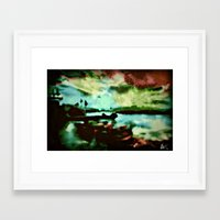 boats Framed Art Prints featuring Boats  by Brittany Smith