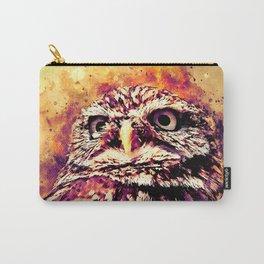 owl portrait 5 wslsh Carry-All Pouch