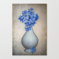 For-Get-Me-Not Canvas Print
