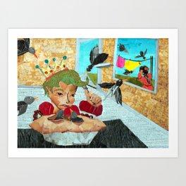 sixpence Art Print