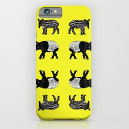 Dance of the Tapirs iPhone Case