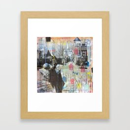 Belmont Ave Framed Art Print