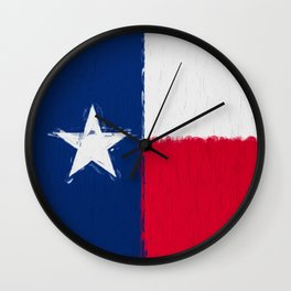 Texas state flag  Wall Clock