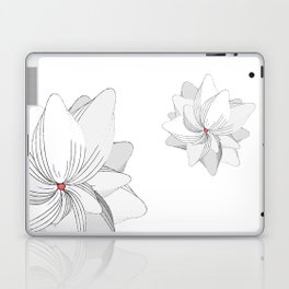 The Flower of my Heart Laptop & iPad Skin