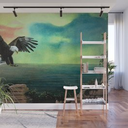 The Eagle has Almost Landed Wall Mural