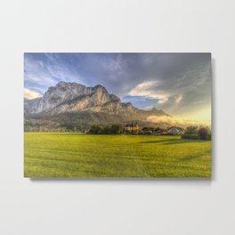 St Lorenz Austrian Alps Metal Print