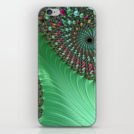 Carnival Green iPhone Skin