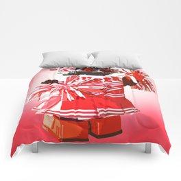 Cheerbot Red Comforters