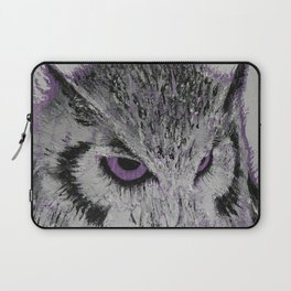 Violet Owl Laptop Sleeve
