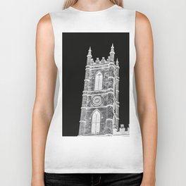 inverted church tower Biker Tank
