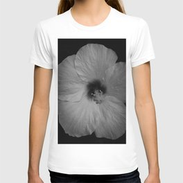 Hawaiian Dreams in Black and White  T-shirt
