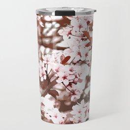 spring flowers pink Travel Mug