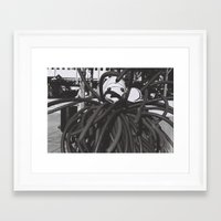 the thing Framed Art Prints featuring thing by Dragonheart