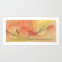 Skyliner Art Print