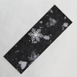 Snowflakes Yoga Mat
