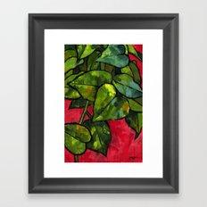 Pothos 3 Framed Art Print