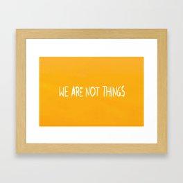 Who Killed the World? Framed Art Print
