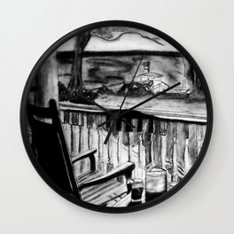Low country Porch Wall Clock