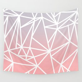 Gradient Mosaic 1 Wall Tapestry