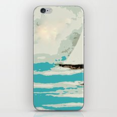 Sailing The Coast Of California iPhone & iPod Skin