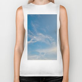 Hummingbird Cloud by Teresa Thompson Biker Tank