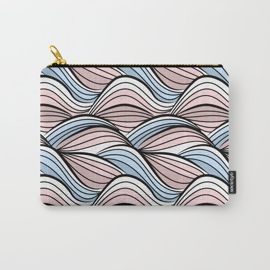 Thread pink blue Carry-All Pouch