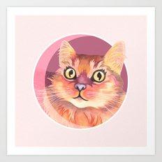 Miss Meowgi Art Print
