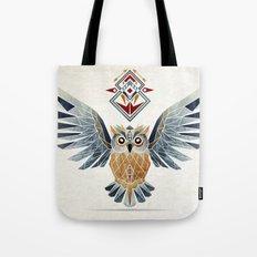 owl winter Tote Bag