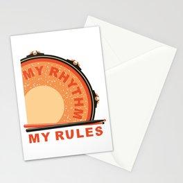 My Rhythm My Rules Stationery Cards