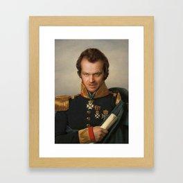 Jack Torrance Portrait Framed Art Print